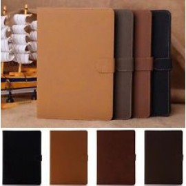 Magnetic Flip Smooth Leather Cover for iPad 3/4