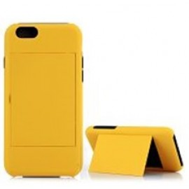 Hybrid Hard Case with Card Slot for iPhone 6