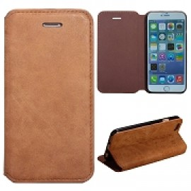 Vintage Style Magnetic Side Flip Stand Leather Case for iPhone 6
