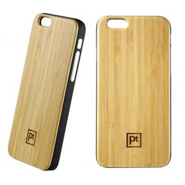 Wood Coated PC Hard Case for iPhone 6
