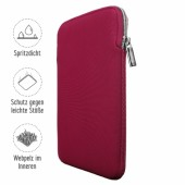 Artwizz Neoprene Sleeve for iPad Mini & Mini 2 (Black/Ruby)